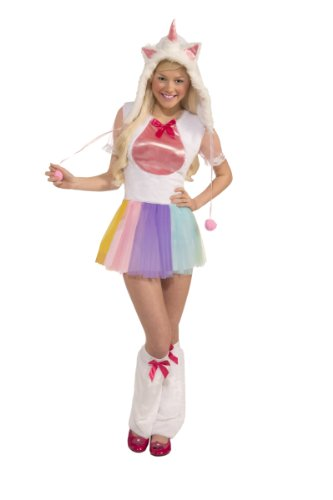 Forum Novelties Women's Teen Plush Unicorn Costume