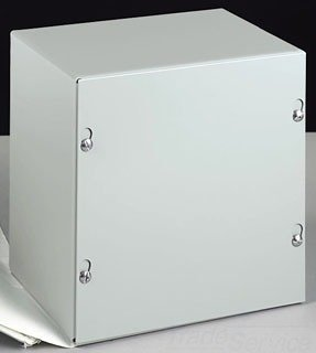 Save Price Enclosure, Steel, 12 x 12 x 6 In