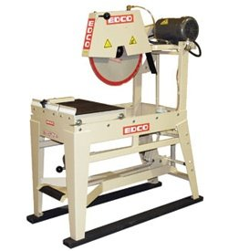 EDCO 21200 20-Inch Electric Masonry Saw 5 Horsepower
