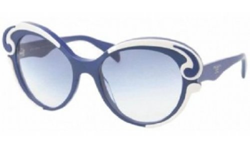 prada Prada Sunglasses Top Ivory/Blue Blue Gradient
