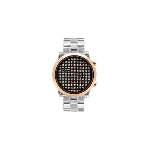 腕時計 Phosphor Women's MD010L Swarovski Mechanical Digital Watch【並行輸入品】