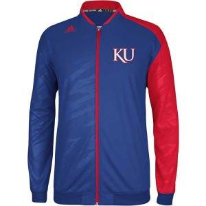 Kansas Jayhawks adidas NCAA On Court Warm Up Jacket 13 by adidas