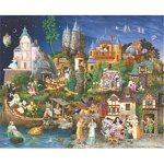 Cheap Fun Sunsout Fairy Tales James Christensen 1500 Piece Jigsaw Puzzle (B00064SA34)