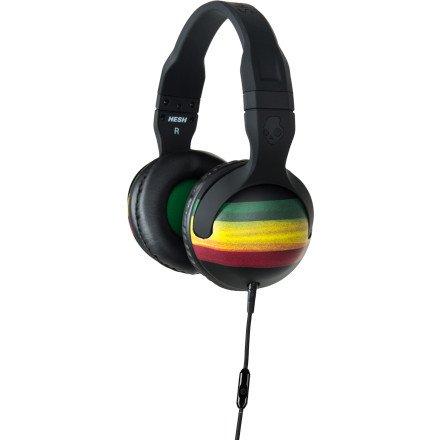 Skullcandy Hesh 2 Headphones Micd - Rasta/Green/Black