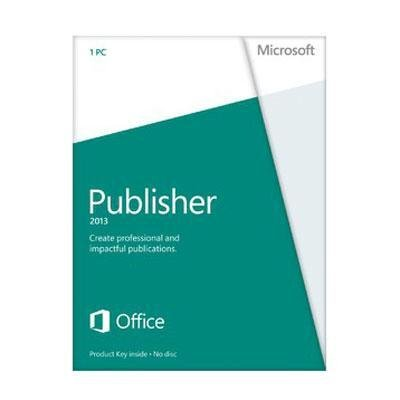 Microsoft Publisher 2013 Key Card (No Disc)