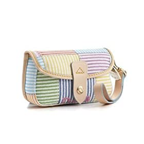 Dooney & Bourke Seersucker Flap Wristlet