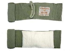 Israeli Bandage Battle Dressing, First Aid Compression Bandage