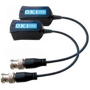 "Okina Video Filter Balun 8"" BNC Pigtail, VPB100LP"