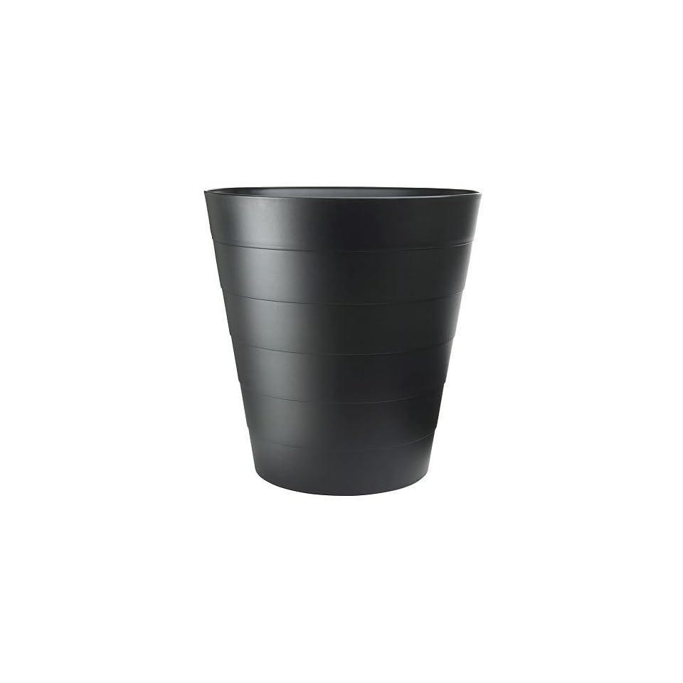 Ikea Papierkorb Fniss M Lleimer Aus Polypropylen Schwarz