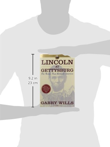 "the manipulation of language in garry wills book lincoln at gettysburg Unity and duality in barack obama's ""a more perfect union"" garry wills provides a side-by-side reading of obama's speech with lincoln's cooper union address."