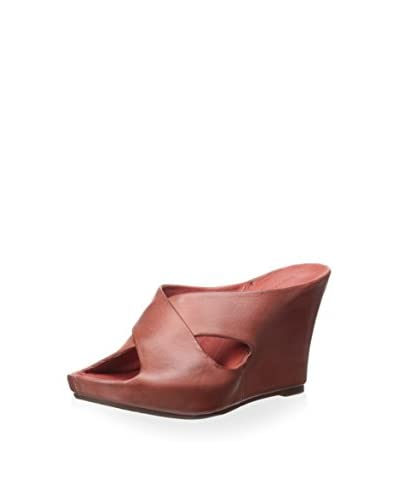 Chocolat Blu Women's Wedge Slide  [Red]