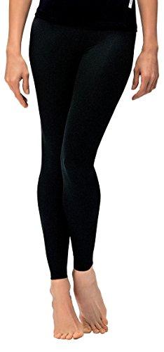 Leggings da donna Classic Sport Pantaloni Pantaloni da jogging pantaloni Fitness ideale e tempo libero Pantaloni lunghi da in nero di Gwinner, nero, L