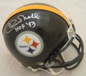 Chuck Noll Signed Autograph Pittsburgh Steelers Mini Helmet Authentic Certified Coa by all-star sports
