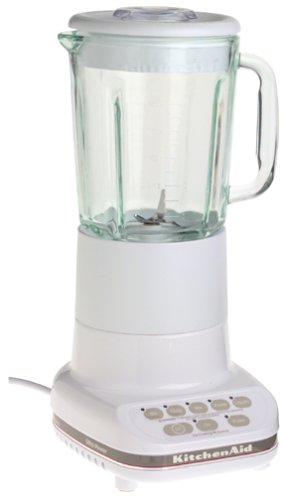 KitchenAid KSB5WH 5-Speed Blender, White (Kitchen Aid Blender Cover compare prices)