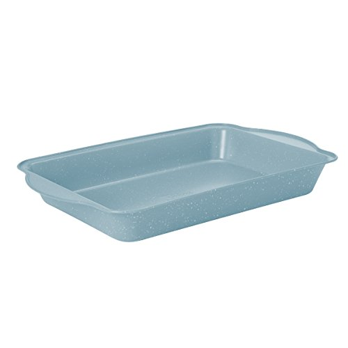 "Baker's Advantage Sheet Cake Pan, Carbon Steel, 0.4mm/9"" by 13"", Light Blue"
