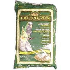 Tropican Lifetime Formula Cockatiel Granules, 20-Pound