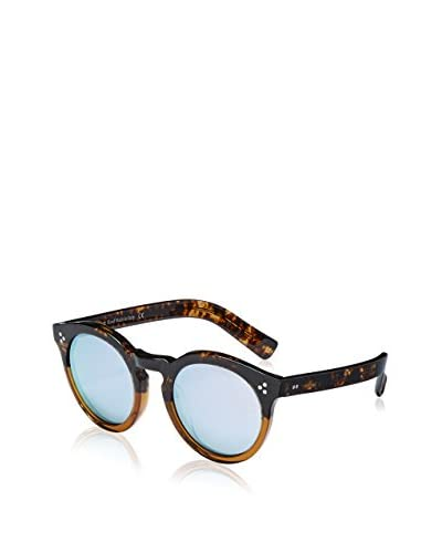 Illesteva Women's Leonard II Sunglasses, Brown/Silver