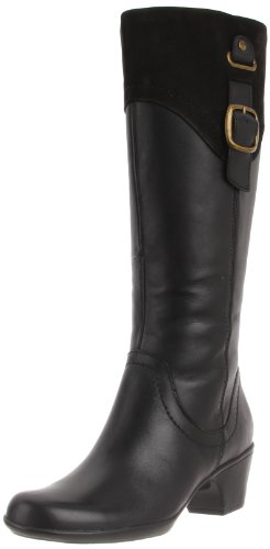 Clarks Women's Ingalls Delaware Boot,Black,8 M US