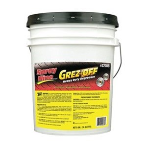 Spray Nine 22705 Grez-Off Heavy Duty Degreaser - 5 Gallon