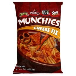 Amazon.com: Frito Lay Munchies Snack Mix 8oz Bag (Pack of 4) (Cheese ...