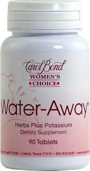 Carol Bond Water Away A Natural Diuretic with a