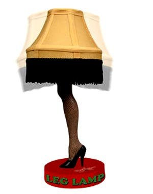 Christmas Story Leg Lamp Head Knocker