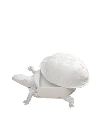 Areaware Turtle Box, White