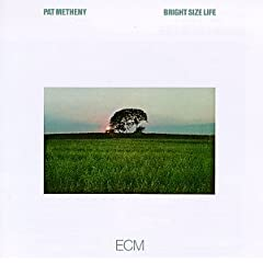 pat metheny, bright size life, cd sleeve