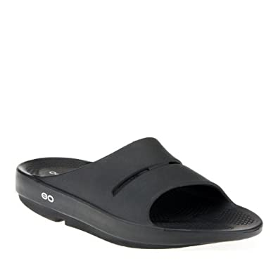 2dbc7e9f6153 Oofos Unisex OOAHH Flexible Casual Slide Sandals