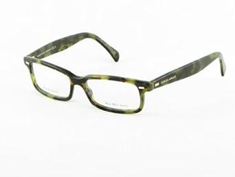 Giorgio Armani Mens 822 Green Tortoise Pattern Frame ...