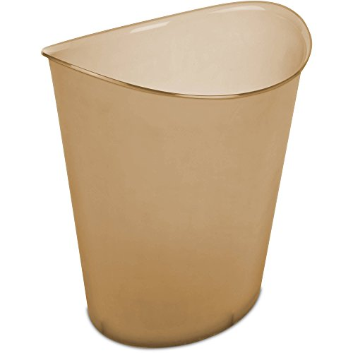 Sterilite Commercial Plastic Trash Receptacle Wastebasket, Tint Brown (20 Drawer Mobile Organizer compare prices)