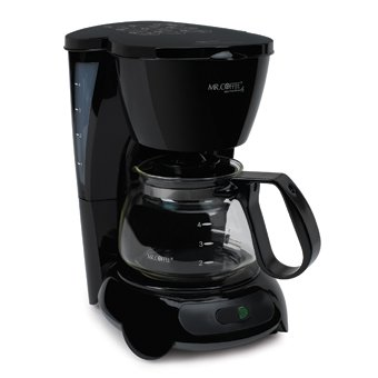 Sunbeam TF5-099 Black 4-Cup Coffeemaker
