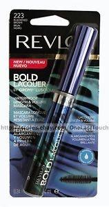 Revlon Bold Lacquer Grow Luscious Length+Volume Mascara - WP Blackened Brown (223) - 0.24 oz by Revlon