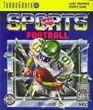 TV Sports Football TG16 Turbo Grafx 16