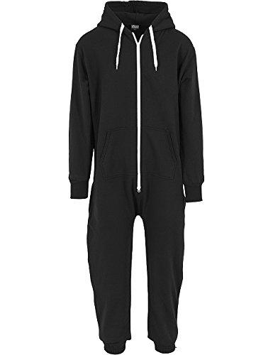 Urban Classics - Bekleidung Jumpsuit, Salopette uomo, grey/white, M/L