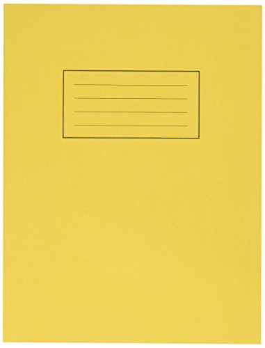 silvine-exercise-book-ruled-and-margin-80-pages-229x178mm-yellow-ref-ex103-pack-of-10