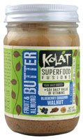Kolat Superfood Fusions Fruit And Almond Butter, Blueberry Cinnamon Walnut, 12 Ounce