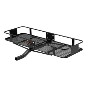 Curt Manufacturing 18130 2 Piece Basket Cargo Carrier, Fixed Shank front-69243