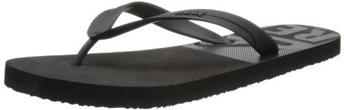 Reef Mens Pulse TQT Thong Sandals R2142BCP Black Crop 7 UK, 40 EU