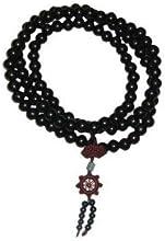 Traditional Mala Beads 9mm - Black Meditation Mantra Beads