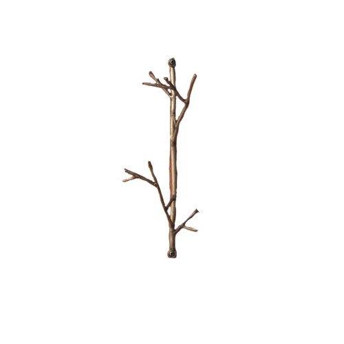 4 ganci, motivo: ramoscello
