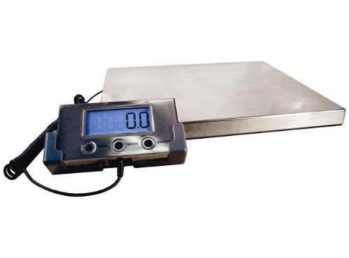 Balance plate-forme industrielle entrepot 125kg x 100 g - PROMOTION - adaptateur secteur inclus