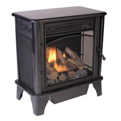 Free Standing Gas Fireplace The Lancaster Dual Fuel Vent Free Stove GSD4