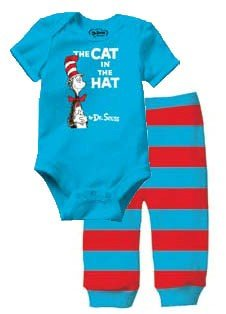 Bumkins Dr. Seuss Short Sleeve Bodysuit and Pants