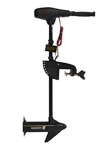 "Newport Vessels NV-Series 36 lb. Thrust Saltwater Transom Mounted Electric Trolling Motor with 30"" Shaft primary"