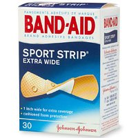 Band-Aid Adhesive 1-Inch Wide Bandages, 30-Count