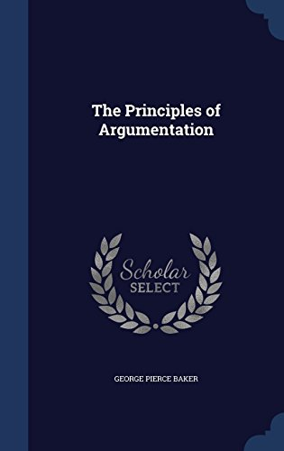 The Principles of Argumentation