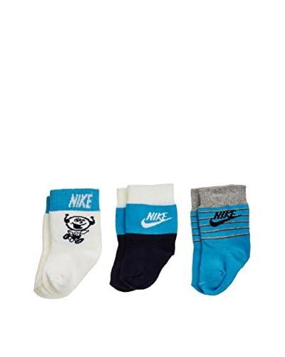 Nike Set 3 Pezzi Calze Little Kids [Blu]