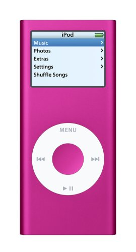 Apple iPod nano 4 GB Pink (2nd Generation) OLD MODEL