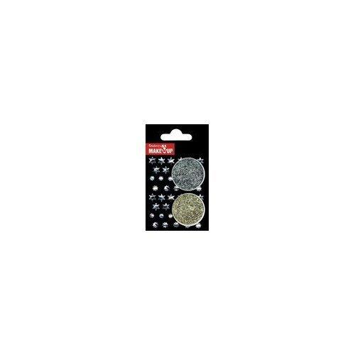 Fantasy 37102 – Glitterset Body Mix Körperflitter Motivbrillies, gold/silber kaufen
